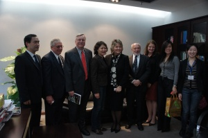 Waterloo Delegation Meets with Foreign Experts Group